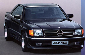 coupe w126 wide body amg